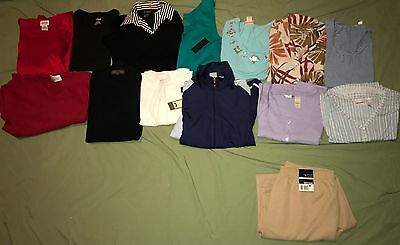 Huge Lot of 14 Women Clothes Size Large Some NWT