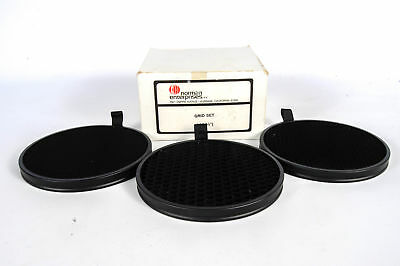 """Norman GS5 (1/2"""") Round Honeycomb Grid Set for 5"""" Reflectors"""