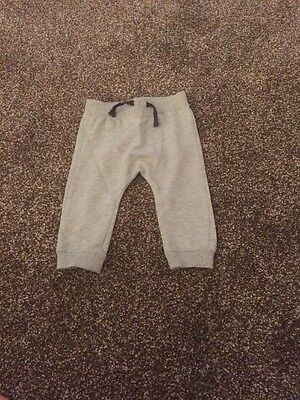 F & F Boys Fantastic Grey Tracksuit Bottoms 6-9 Months