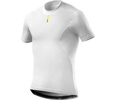 Mavic Wind Ride Short Sleeve Bike Base Layer Tee White
