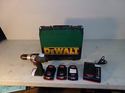 Porter Cable Cordless 18V Drill/driver Pcl180Cd, 3 Batteries, Charger, Case