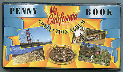 Penny Book - California - elongated cents - NEW BOOK