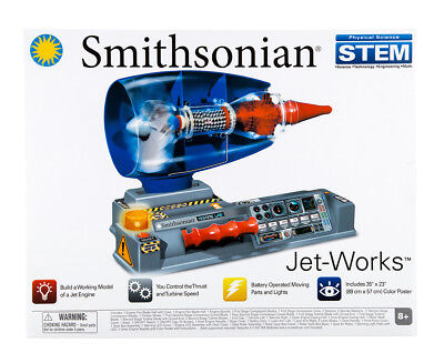 Smithsonian Jet-Works Kit