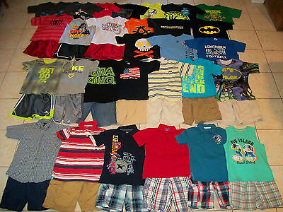 Boys Clothes/Outfits/Tops/Shirts Lot of 45 Size 7-7/8-8 Summer