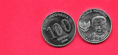 Indonesia 2016 Unc-Uncirculated Mint Commemorative 100 Rupiah Coin