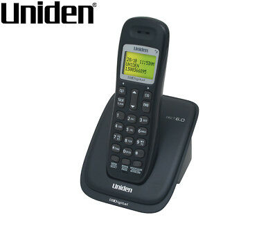 Uniden DECT 1015 Cordless Phone System - Black