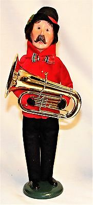 Byers Choice Music Family Man Caroler with Tuba - New 2017
