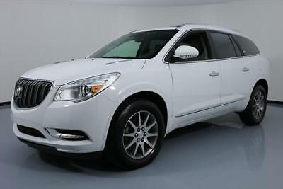 2017 Buick Enclave Leather Sport Utility 4-Door 2017 BUICK ENCLAVE LEATHER 7-PASS HTD SEATS SUNROOF 27K #178187 Texas Direct