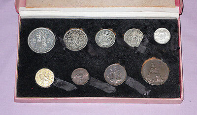 1950 Royal Mint King George Vi Proof Set Coins