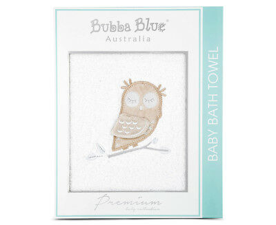 Bubba Blue Mod The Owl 60x120cm Baby Bath Towel