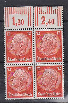 Germany  - Michel #469 block of 4 mint NH stamps