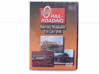 New Sealed DVD - Guide to Railroad Museums You Can Visit - OGR Publishing
