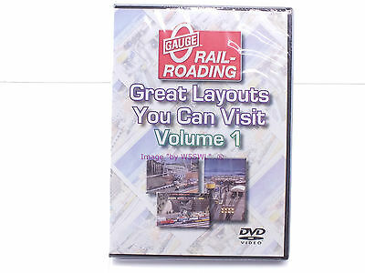 New Sealed DVD - Great Layouts You Can Visit Volume 1 - OGR Publishing