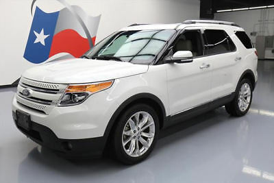 2014 Ford Explorer  2014 FORD EXPLORER LTD LEATHER PANO ROOF NAV 20'S 64K #A63761 Texas Direct Auto