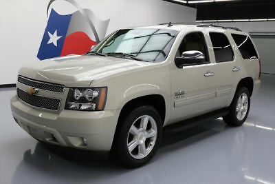 2014 Chevrolet Tahoe LT Sport Utility 4-Door 2014 CHEVY TAHOE LT 7-PASS HTD LEATHER REAR CAM 74K MI #227179 Texas Direct Auto