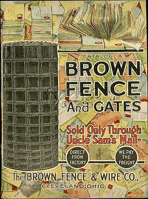 1917 BROWN FENCE And GATES Catalog A
