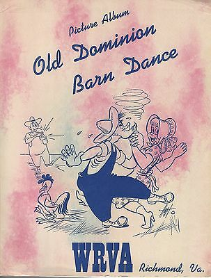 WRVA Old Dominion Barndance Picture Album Chet Atkins Grand Ole Opry