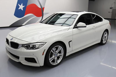 2015 BMW 4-Series Base Coupe 2-Door 2015 BMW 428I COUPE M SPORT LINE SUNROOF NAV 26K MILES #222186 Texas Direct Auto