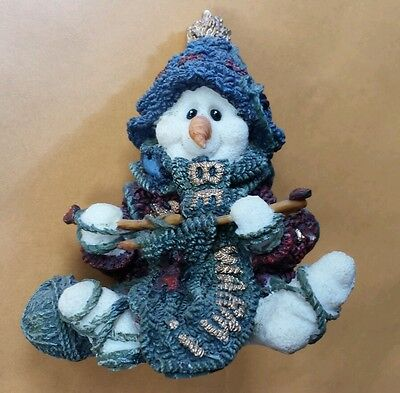 """""""Pearl Too""""...the Knitter ~ Boyd's Wee Folkstone #36501-1 ~4E/6922 (Snowpeople)"""