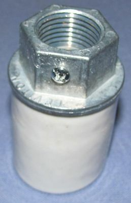 "New Porcelain Light Socket For Tokheim 39 Pumps With 1/2"" Conduit"