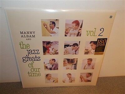 * Manny Albam . Jazz Greats Of Our Time Vol. 2 .180 Gr. New Sealed . Jazz . LP