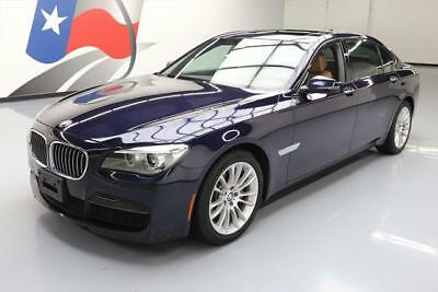 2014 BMW 7-Series Base Sedan 4-Door 2014 BMW 740LI XDRIVE AWD M-SPORT SUNROOF NAV ONLY 35K #282222 Texas Direct Auto