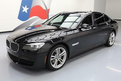 2015 BMW 7-Series  2015 BMW 740I M-SPORT EXECUTIVE SUNROOF NAV 20'S 42K MI #826873 Texas Direct