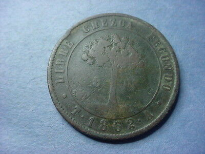 Honduras 8 Pesos Huge Copper Scarce 1862