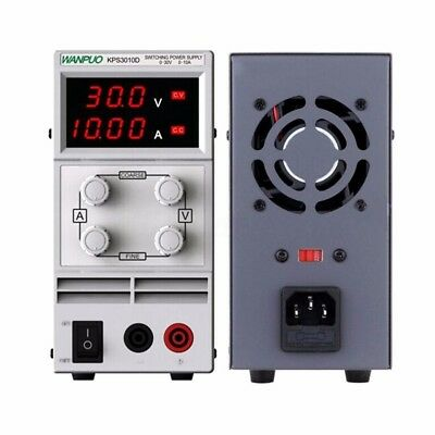 Variable Adjustable Power Supply Linear Mode 30V 10A Fan cooling Electronic Test