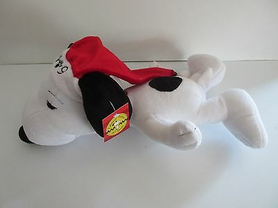 New 60th Anniversary 2009 SNOOPY DOG Plush Christmas Doll