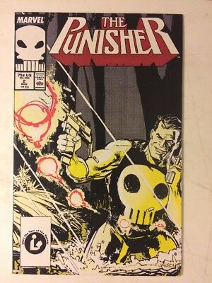 Marvel Comics The Punisher #2 Copper Age 1987