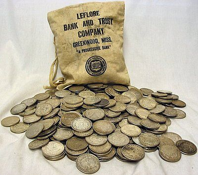 One Thousand (1,000) 1921 Morgan Silver Dollars - 90% silver - FREE Shipping