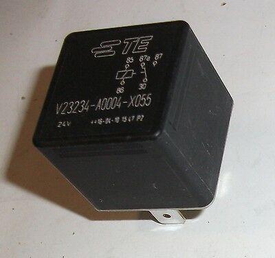 Te Connectivity Automotive Plug In Mini Iso Relay V23234-A0004-X055 24Vdc