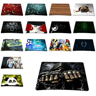 New Designs Soft Rubber Anti-Slip Mice Pad Mat Mouse pad For Optical Laser Mouse