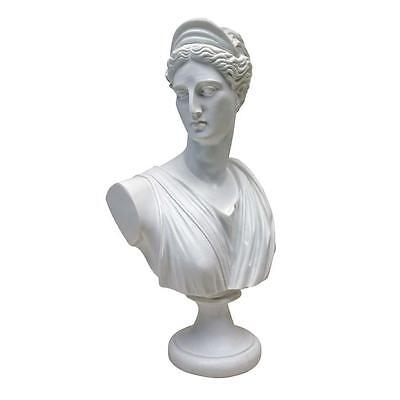 Diana Greco Roman Goddess of the Hunt Bonded Marble Bust
