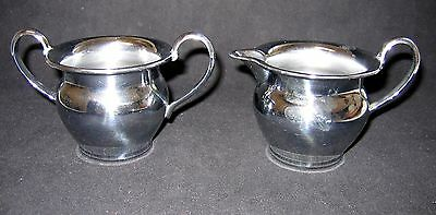 Farberware Stainless Steel Creamer & Sugar Bowl Set - New York/Brooklyn