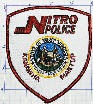 West Virginia, Nitro Police Dept White Patch