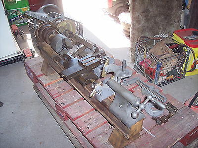 Vintage Rivett Model 504 Metal Lathe - With Accessories - 1920's