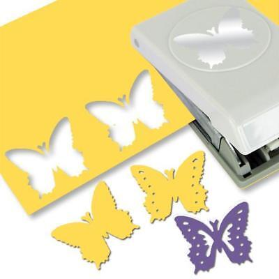 EK Success Paper Shapers Slim Profile Layering Punch Butterfly