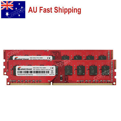 AU 16GB 2x8GB PC3-12800 DDR3-1600Mhz 240PIN DIMM AMD AM3 AM3+Desktop Memory RAM