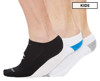 Champion Boys Size 2-8 Low Cut Sock 3-Pack - Grey/Blue/Black