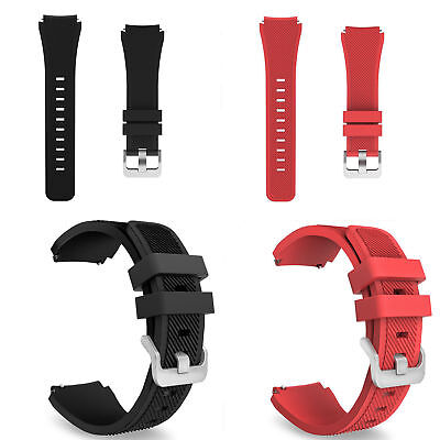 22mm Silicone Bracelet Strap Watch Band For Samsung Gear S3 Frontier/Classic