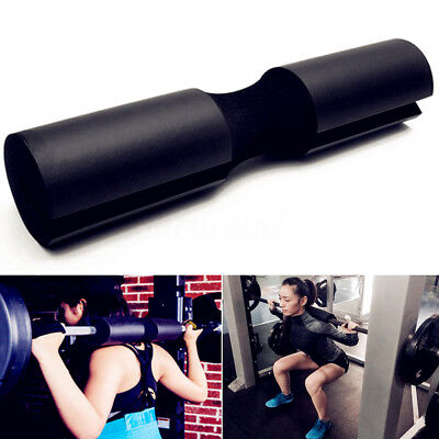 Foam Padded Barbell Bar Pad Cover For Squat Weight Lifting Shoulder Support Back