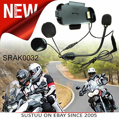 Cardo Scala Rider Microphone/ Audio Kit│Helmet Dual Mic│For SmartPack & Packtalk