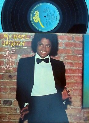 Michael Jackson Off The Wall Reissue Vinyl Lp Gatefold