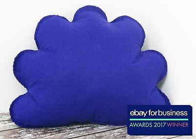 Purple Cloud Shaped Cushion Plush Pillow Kids Room Baby Nursery Decor Cute Gift