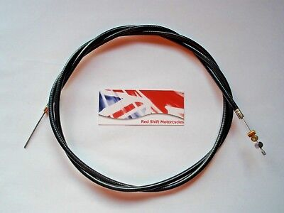 THROTTLE Bowden CABLE Inner/Outer Kit. NEW Universal for BSA Honda Trike Project
