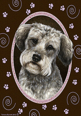 Large Indoor/Outdoor Paws Flag - Schnoodle 17474