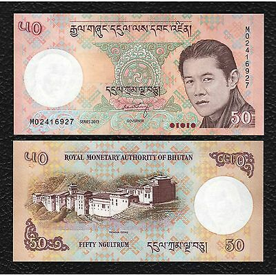 Bhutan P-31b 2013 50   2 Ngultrum - Crisp Uncirculated