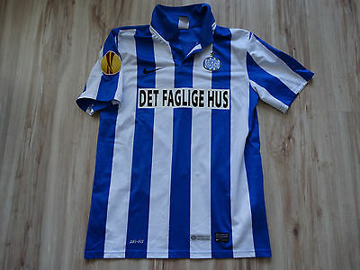 Esbjerg 2014 2015 PLAYER ISSUE MATCH WORN ? trikot shirt jersey maglia size S